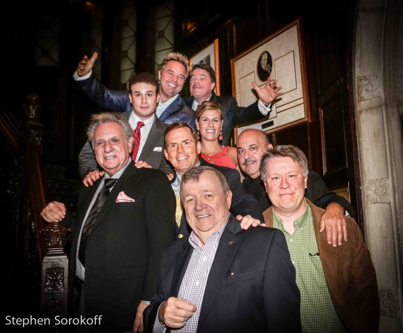 Friars Club Sunshine Comedy Night ( Top to bottom: John Pizzi, Dave Konig, Mike Fine, Kerri Louise, Jeff Pirrami, Tom Cotter, Stewie Stone, Joey Callahan, Tom Debow)