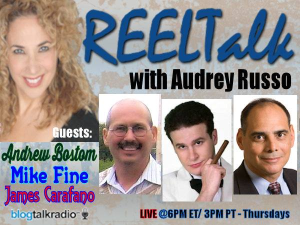 REELTalk with Audrey Russo and Special Guest Comedian Mike Fine