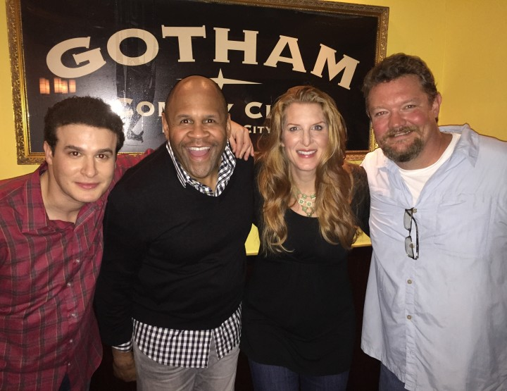 MIKE FINE APPEARING ON AXS TV's GOTHAM COMEDY LIVE