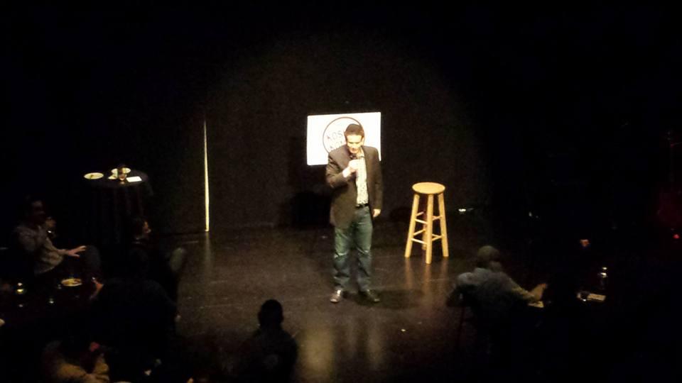Comedian Mike Fine